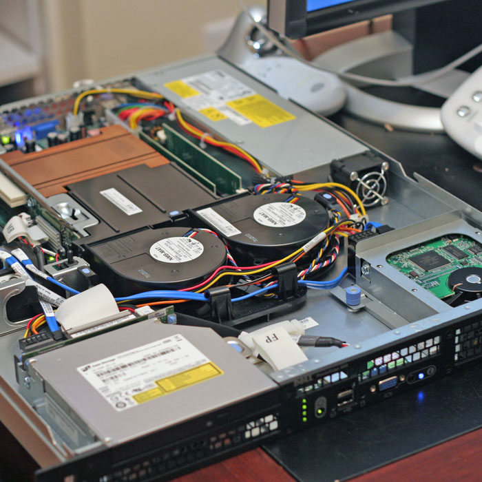 components inside a server
